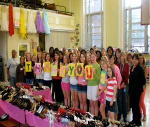 Prom Boutique Volunteers Send a Huge Thank You to Everyone Who Helped to Support The Event!