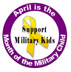 April is Military Kids Month