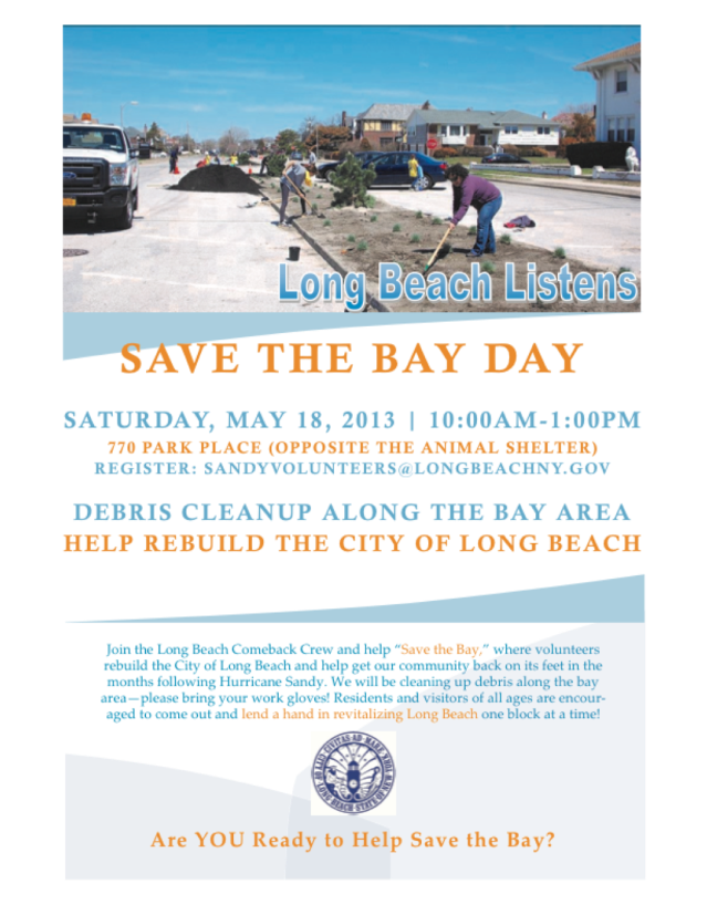Long Beach Save the Bay Day