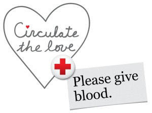 Blood drive logo cut