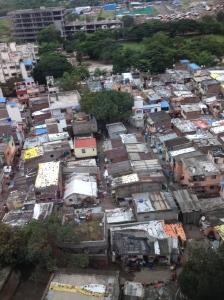 Slum in Mumbai India